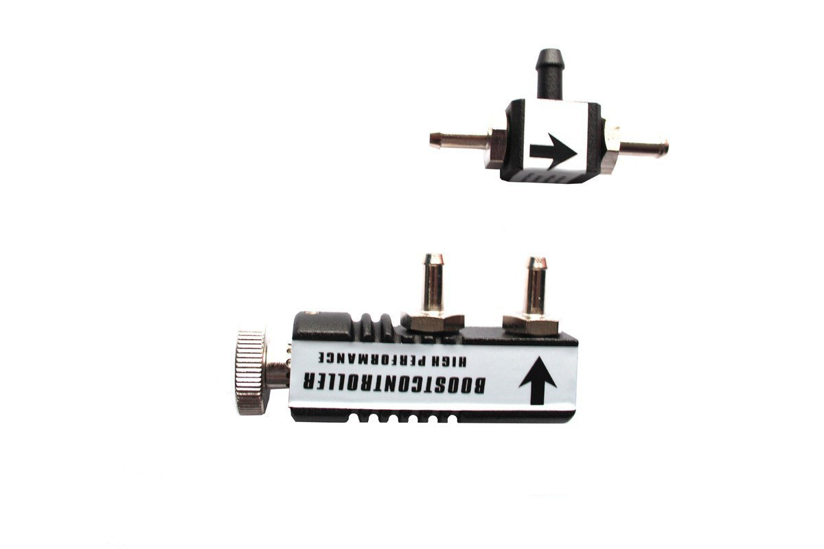 Zawór Manual Boost Controller MBC01 BLACK - GRUBYGARAGE - Sklep Tuningowy